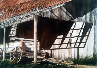 Uncle Seifs Wagon  Print by Don F  Bradford