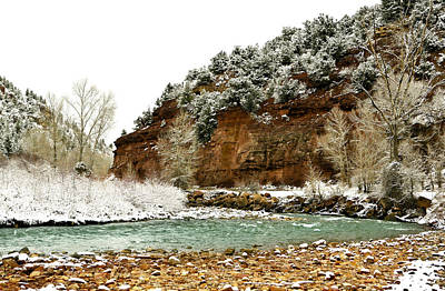 River Photograph - Uncompahgre River  by Marilyn Hunt