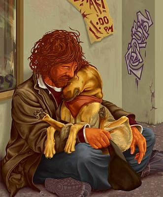 Unconditional Love Original by Hans Neuhart