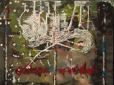 Unconscious Subconsious Original by DelRay Dreiling