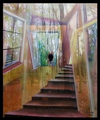 und hol mir den Herbst ins Haus Print by Gertrude Scheffler
