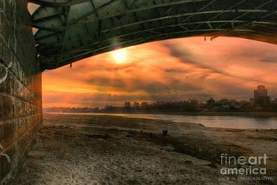 Under Bridge Print by Jacek Niewiadomski