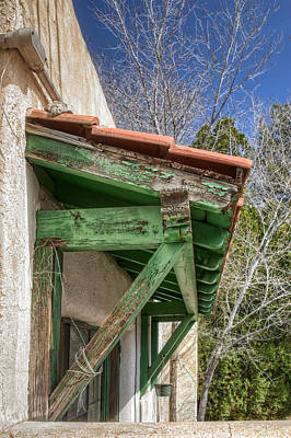 Outdoor Still Life Photograph - Under Green Eaves by Nikolyn McDonald