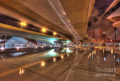 Under The Bridge Print by Akira Alonso Domenech