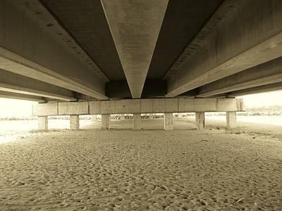 Under The Bridge Print by Joanne Askew