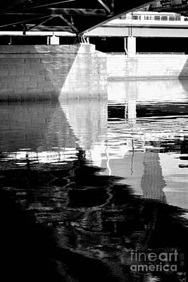 under the bridge - the X Print by Bener Kavukcuoglu