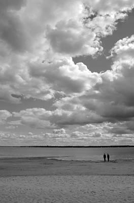 Under The Huge Sky Print by Arkady Kunysz