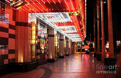 Freemont Photograph - Under The Neon Lights by John Rizzuto