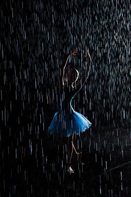 Under The Rain Print by Zina Zinchik
