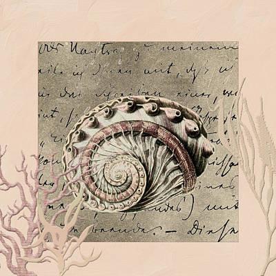 Coastal Decor Digital Art - Under The Sea by Bonnie Bruno