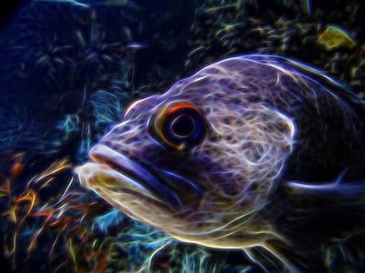 Under The Sea Digital Art Print by Ernie Echols