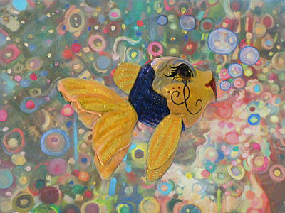 Under The Sea Party Print by Sandi OReilly