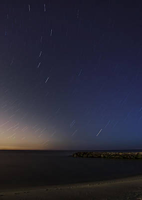 Sea Photograph - Under The Stars by Susan Candelario