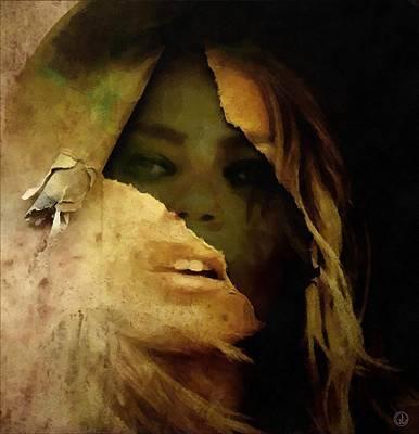 Despair Digital Art - Under The Surface by Gun Legler