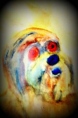 Equity Painting - Understanding Me Misunderstanding You  by Hilde Widerberg