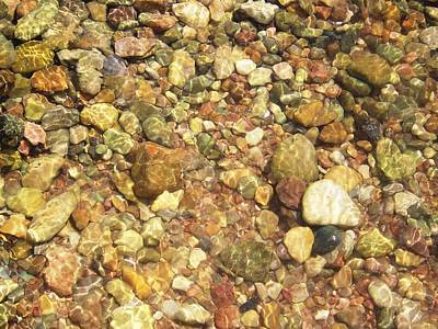 River Rocks Photograph - River Rocks Underwater by T Cole