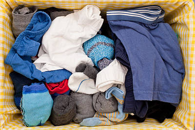 Clothes Clothing Photograph - Underwear And Socks by Tom Gowanlock