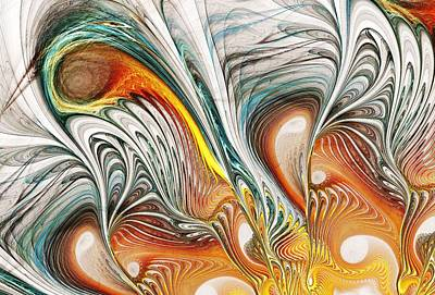 Phoenix Digital Art - Unfathomable by Anastasiya Malakhova