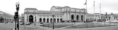 Union Station Washington Dc Print by Olivier Le Queinec
