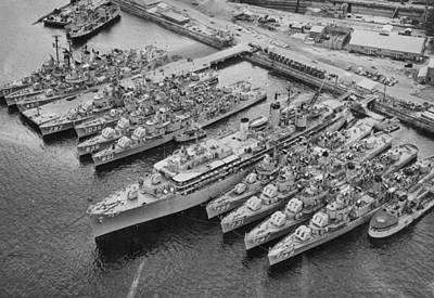 United States 7th Fleet Print by Retro Images Archive