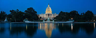 United States Capitol Print by Steve Gadomski