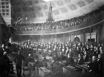 United States Senate, 1847 Print by Granger