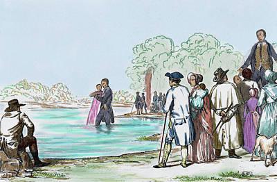 United States Virginia Anabaptist Print by Prisma Archivo