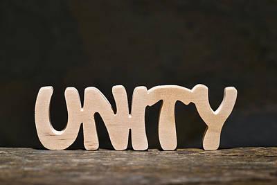 Positive Attitude Photograph - Unity by Donald  Erickson