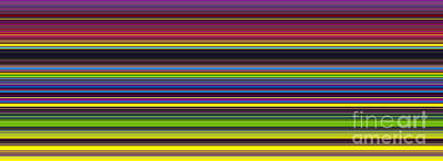 Unity Of Colour 5 Print by Tim Gainey