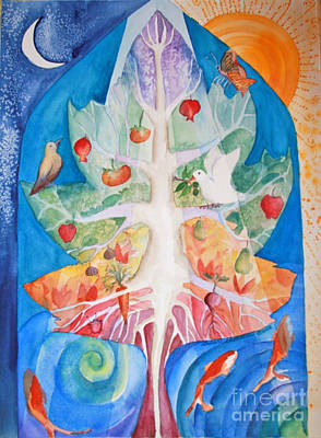 Unity Painting - Unity by Shirin Shahram Badie