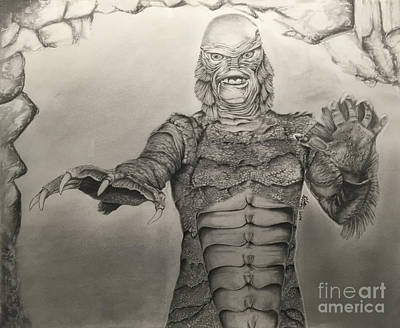 Universal Classics - The Creature Original by Chris Volpe