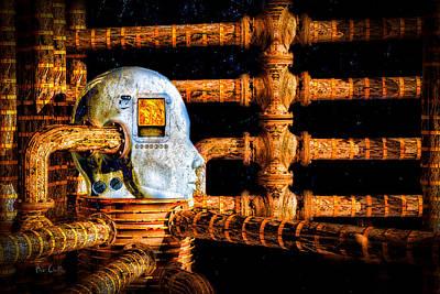 Police Digital Art - Universal Mind by Bob Orsillo