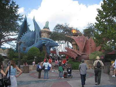 Universal Orlando Resort - 121210 Print by DC Photographer