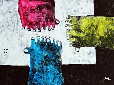 Unity Painting - Universi No. 9 by Mark M  Mellon