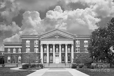 University At Albany Draper Hall Print by University Icons