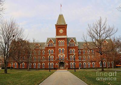Columbus Ohio Photograph - University Hall Ohio State University 1680 by Jack Schultz