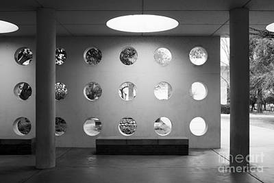 University Of California Photograph - University Of California Riverside Watkins Hall by University Icons