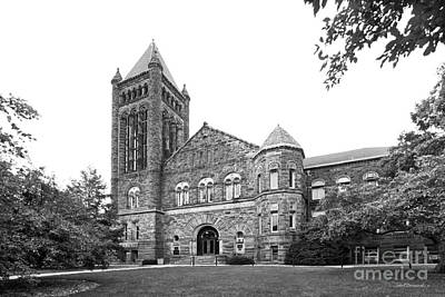 University Of Illinois Altgeld Hall Print by University Icons