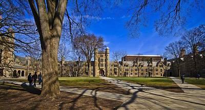 University Of Michigan Ann Arbor Law Quad Print by Marisa Geraghty Photography