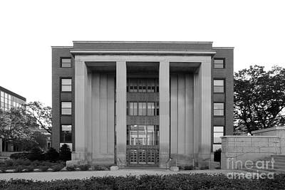 University Of Minnesota Ford Hall Print by University Icons