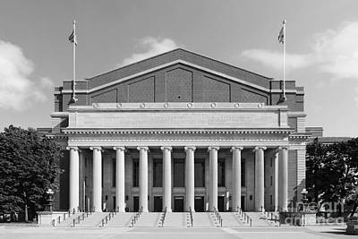 University Of Minnesota Northrop Auditorium Print by University Icons