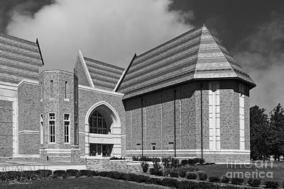 Coeducational Photograph - University Of Notre Dame De Bartolo Performing Arts Center by University Icons
