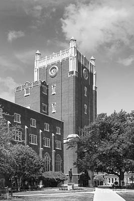 Oklahoma University Photograph - University Of Oklahoma Union by University Icons