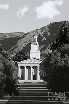 Liberal Photograph - University Of Redlands Memorial Chapel by University Icons