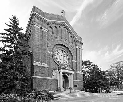 University Of St. Thomas Chapel Of St. Thomas Aquinas Print by University Icons