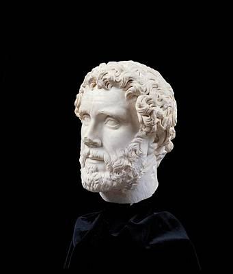 Unknown Artist, Portrait Of Antoninus Print by Everett