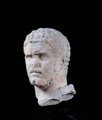 Unknown Artist, Portrait Of Caracalla Print by Everett