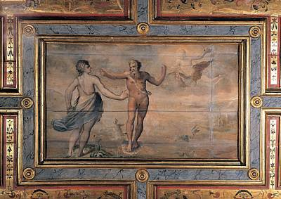 Intarsia Photograph - Unknown Artist, Proteus And Thetis by Everett