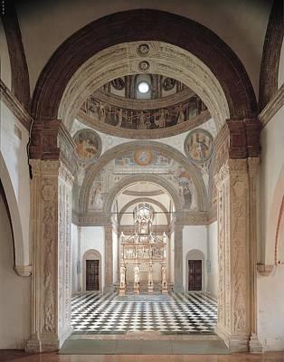 Unknown Artist, The Portinari Chapel Print by Everett