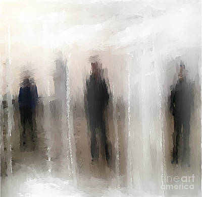 Mixed Media - The Unknown by Ruth Clotworthy